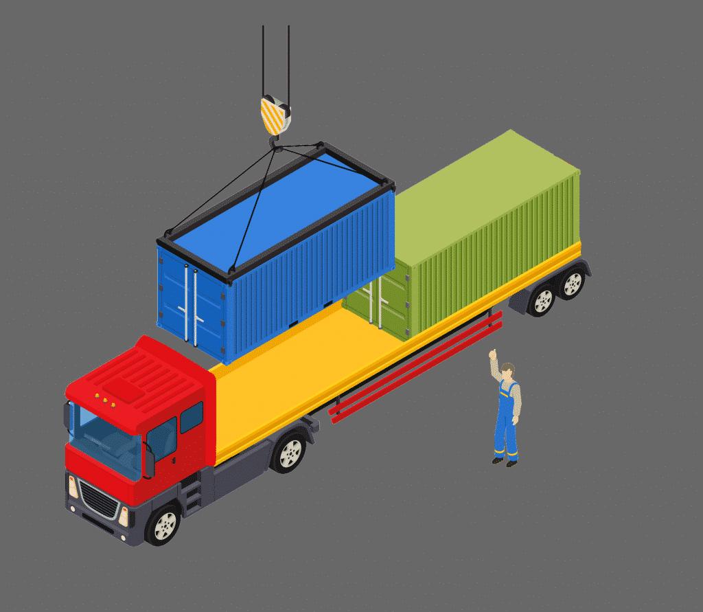 Irak konteyner taşımacılığı